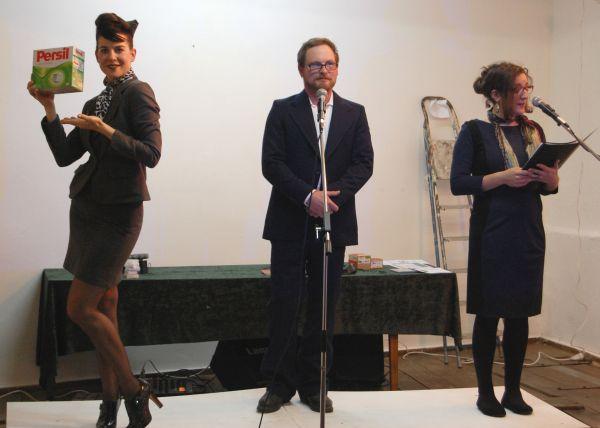 6.12.13 Carl Klein, Katharina Dobermann und Ella Gülden, The Order of Things Pt.2